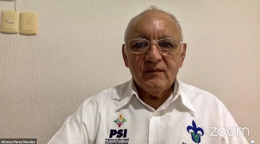 Alfonso Gerardo Pérez Morales, vicerrector de la región Veracruz