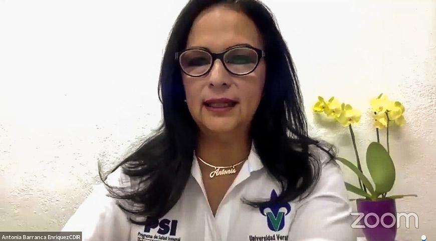 Antonia Barranca Enríquez, coordinadora general del Centro de Estudios y Servicios en Salud