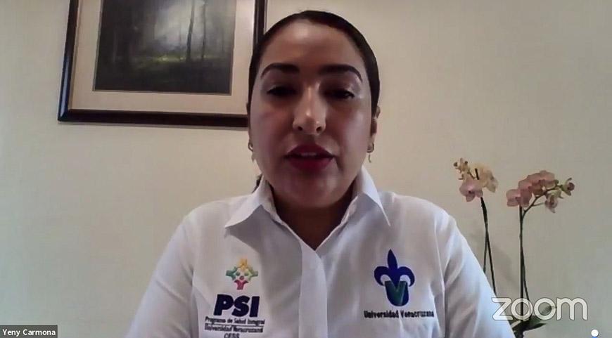 Yeny Paola Carmona Figueroa, coordinadora del PSI