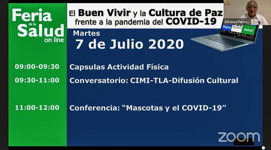 Organizada por el Programa de Salud Integral, la Feria de la Salud se desarrolla del 6 al 10 de julio