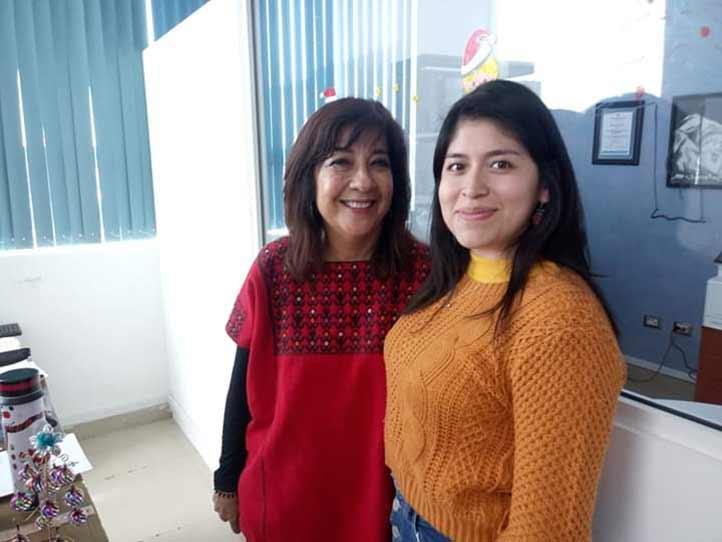 Patricia Andrade y Mariangel Contreras