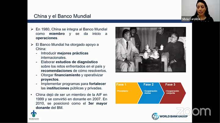 Desde 1980 China es miembro del Banco Mundial