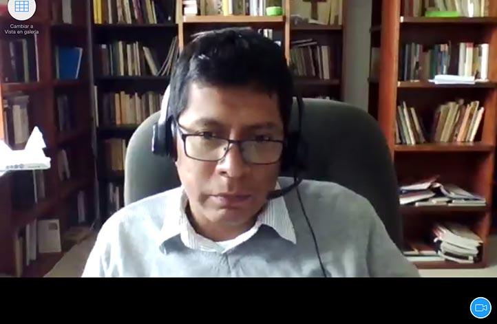 Luis J. García, coordinador del DHER, dio a conocer que el próximo año el posgrado cumplirá 25 años