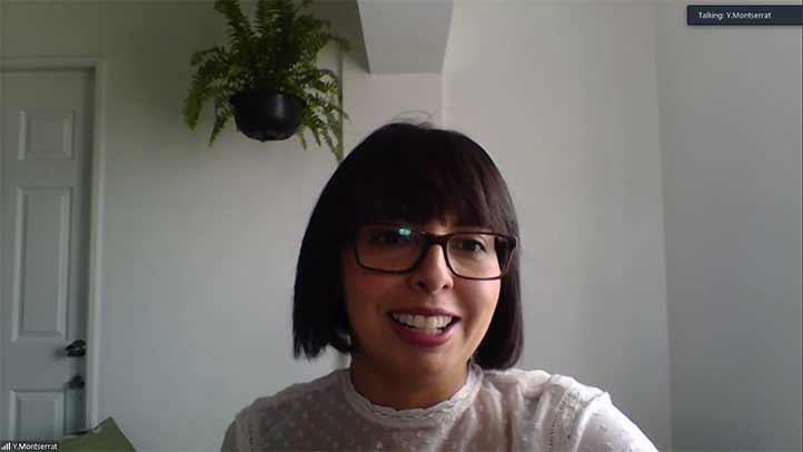 Yazmín Monserrat Flores Martínez es egresada de la Facultad de Bioanálisis de la UV
