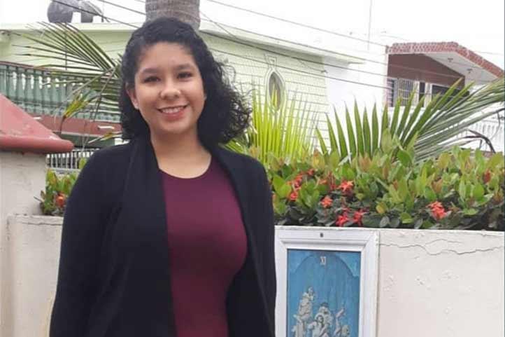 Laura Mariana Baños Pérez participó en el Primer Modelo Virtual del Consejo Permanente de la OEA