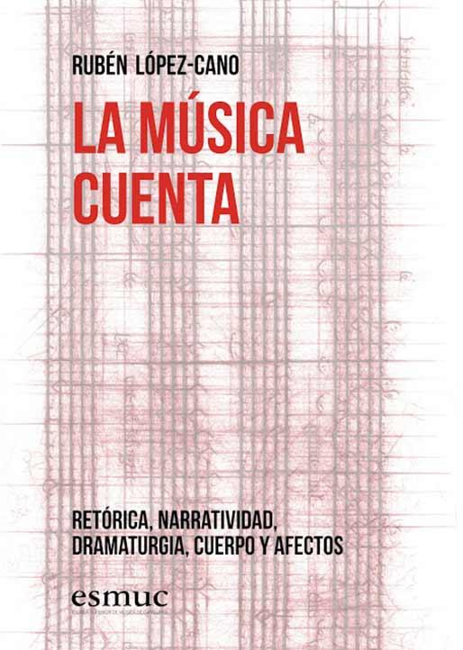 Portada de La música cuenta. Retórica, narratividad, dramaturgia, cuerpos y afectos