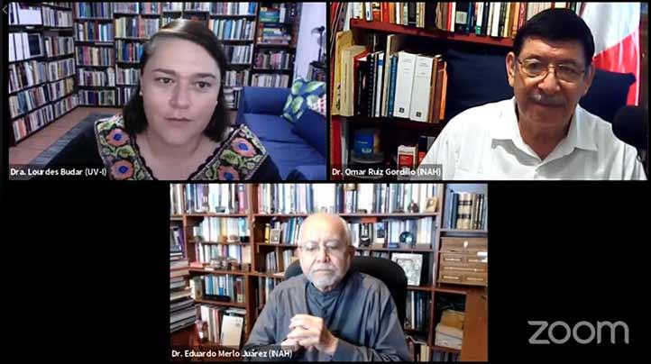 Lourdes Budar, Omar Ruiz y Eduardo Merlo