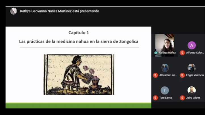 Kathya Núñez desarrolla tesis sobre la radiodifusora XEZON como mediadora de las prácticas de medicina tradicional