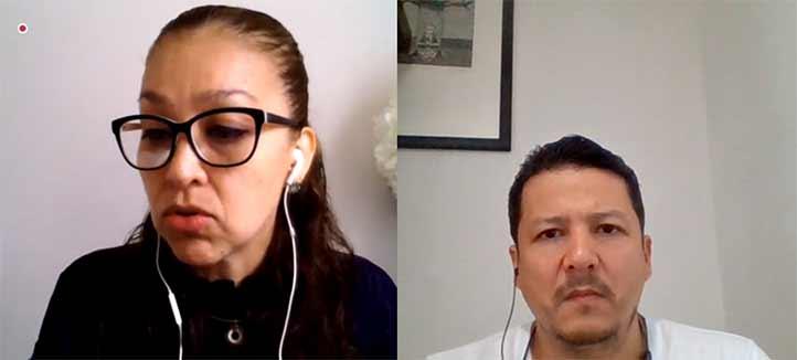 Patricia Arieta y Eduardo Gutiérrez informaron sobre la incorporación de estudiantes a las BUSS y las Casas UV