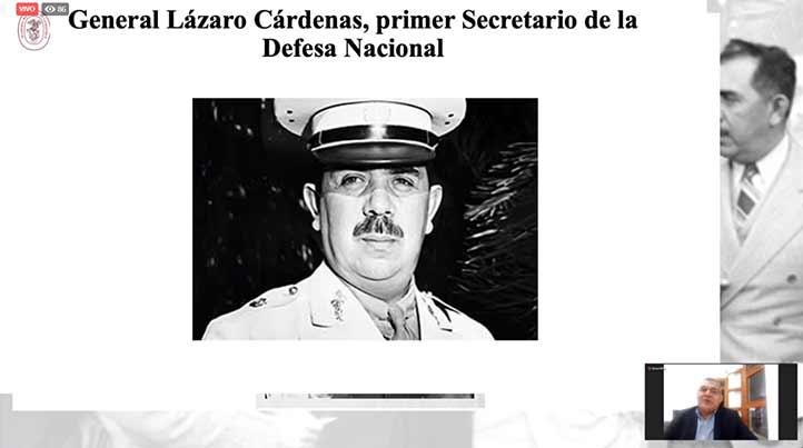Con el inicio de la Segunda Guerra Mundial, Lázaro Cárdenas fue nombrado primer secretario de la Defensa Nacional