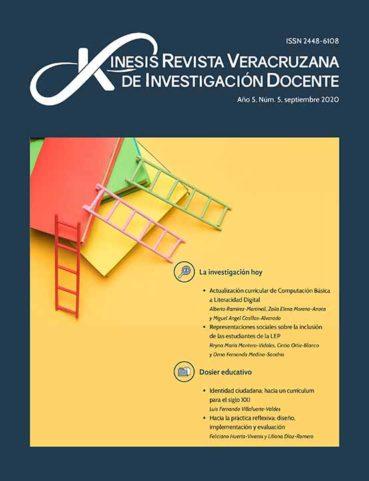 Académicos de la UV publicaron artóculo en el número 5 de Kenesis. Revista Veracruzana de Investigación Docente