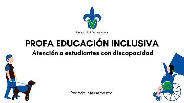 El Cendhui imparte un curso ProFA de educación inclusiva, en la región Xalapa