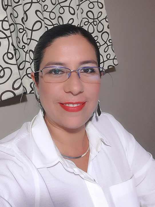 Carolina Delgado Domínguez, egresada del Doctorado en Psicología del IIP-UV