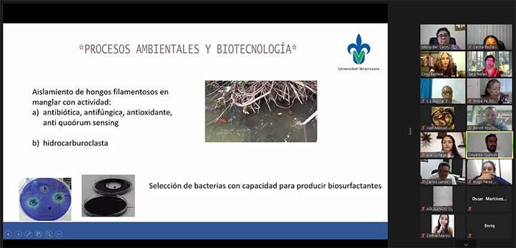 Oswaldo Guzmán presentó el CA Procesos Ambientales y Biotecnología