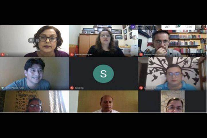 Profesores de la Facultad de Pedagogía participaron en el taller virtual que respalda la DGDAIE