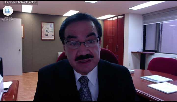 Octavio Ochoa, secretario de Desarrollo Institucional, refirió el desarrollo de las acciones de acreditación universitaria