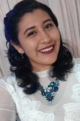 Pamela Rodríguez Herrera, tercer lugar de ingreso de la Licenciatura en Médico Cirujano, con puntaje de 96.85.
