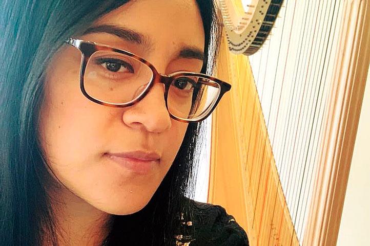 """Eugenia Espinales, egresada de la Escuela Nacional de Música de la UNAM y de la École Normale de Musique """"Alfred Cortot"""""""