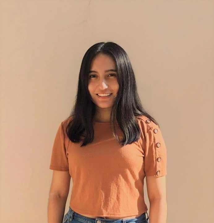Nathaly Tapia fue una de los primeros lugares en el examen de ingreso a la Universidad Veracruzana