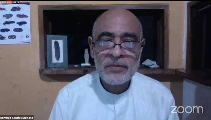 Domingo Canales, director general del Área Académica Biológico-Agropecuaria