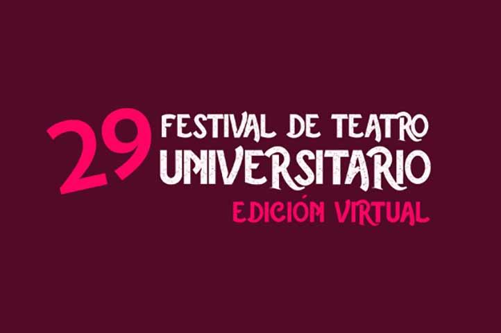 El programa completo del29 Festival de Teatro Universitario está disponible en www.uv.mx/festivaldeteatrouniversitario/.