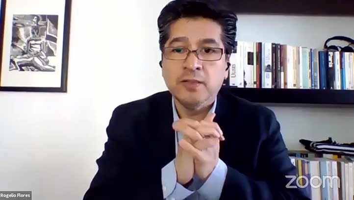 Rogelio Flores, académico de la UNAM, apuntó que la resiliencia surge en entornos conflictivos solamente