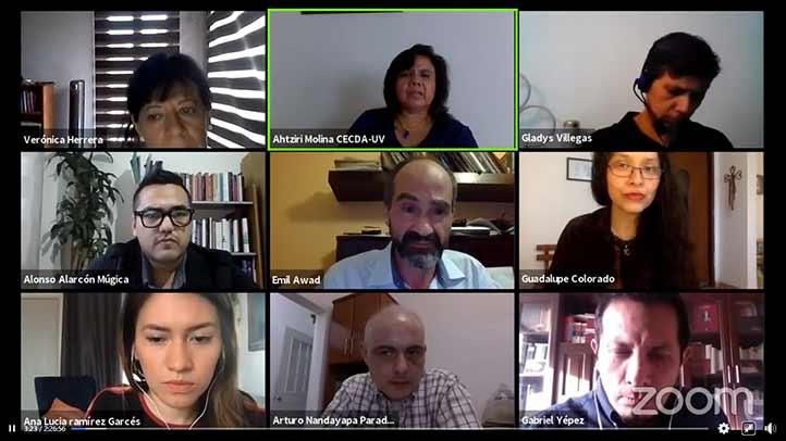 La Mesa 1.2 contó con la presencia de actores e investigadores cuyo radio de acción es local
