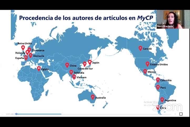 En el periodo 2012-2020 en esta revista han colaborado investigadores de 19 países