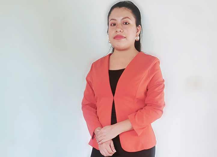 Berenice González Gómez, licenciada en Gestión Intercultural para el Desarrollo