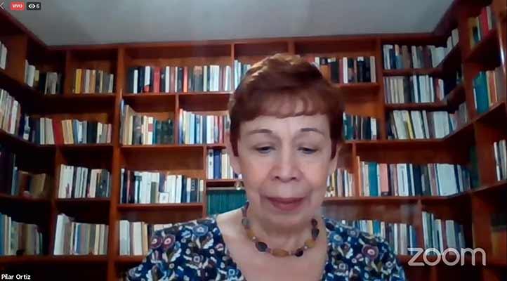 María del Pilar Ortiz Lovillo, académica del Instituto de Investigaciones en Educación y traductora