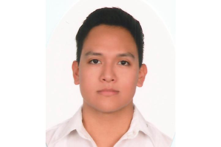 Miguel Ángel Morales Hernández, estudiante de Sistemas Computacionales Administrativos de la UV