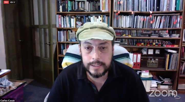 Carlos Alberto Casas Mendoza, del Instituto de Antropología