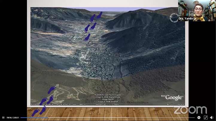 En el valle de Maltrata abundan los terrenos escarpados y la geografía accidentada