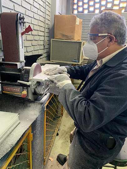 En el Taller Mecánico de la FIME se han elaborado alrededor de 300 mamparas