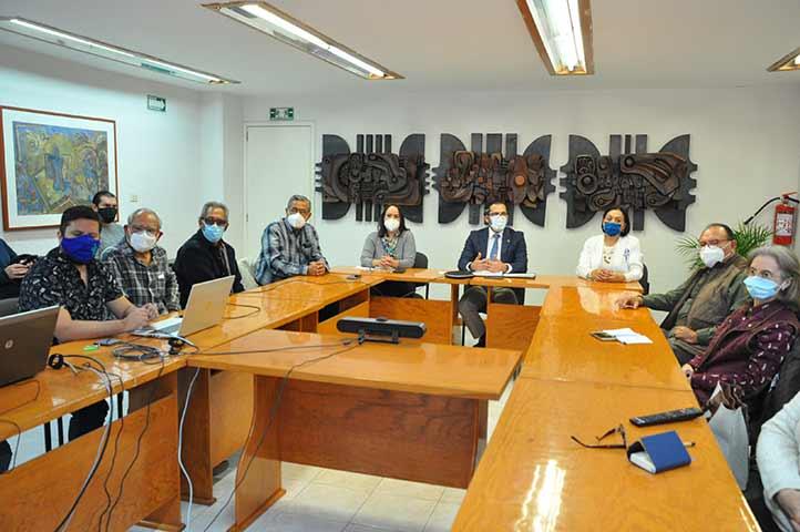 Los trabajadores jubilados compartieron propuestas de colaboración con sus respectivas asociaciones