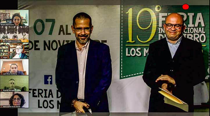 Jesús Ramón Ibarra y Papik Ramírez, funcionarios del Isic