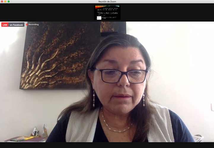 Rebeca Elizabeth Contreras López dijo que la conducta culposa puede ocasionar responsabilidad penal para el personal de salud