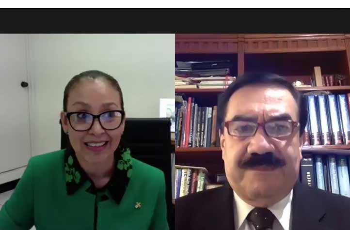 Octavio Ochoa y Patricia Arieta inauguraron el evento