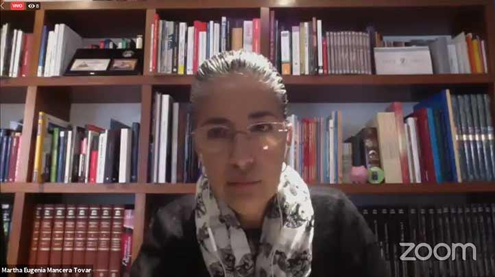Martha Eugenia Mancera Tovar impartió una ponencia dentro de la Semana Nacional de Educación Financiera (SNEF) 2020