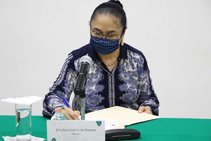 La firma de este convenio representa establecer las bases de cooperación relacionadas con el desarrollo académico