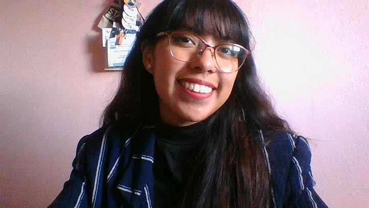 Con un promedio de 9.5, Azalea Esmeralda Salazar Zárate obtuvo este reconocimiento