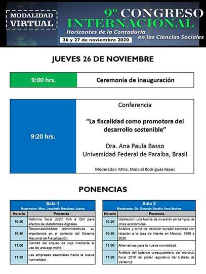 El congreso contará con la participación de investigadores de renombre de México y el extranjero