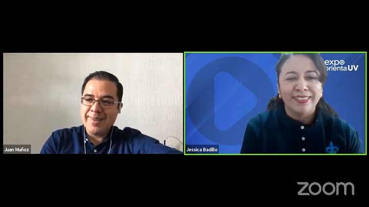 En Expo Orienta UV 2020, José Juan Muñoz León, académico de la FEI, ofreció una plática sobre EXANI-II