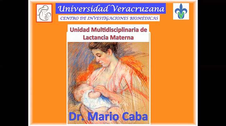 Mario Caba Vinagre impartió plática sobre lactancia materna a prestadores de servicio social de Casas UV y Brigadas Universitarias