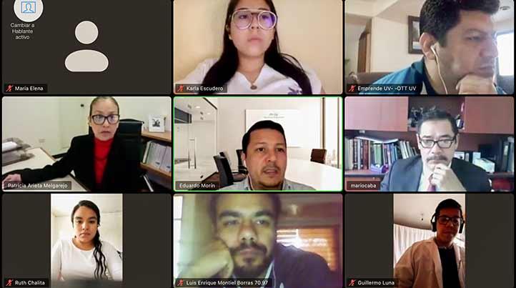 Prestadores de servicio social de Casas UV y BUSS participaron en la plática virtual