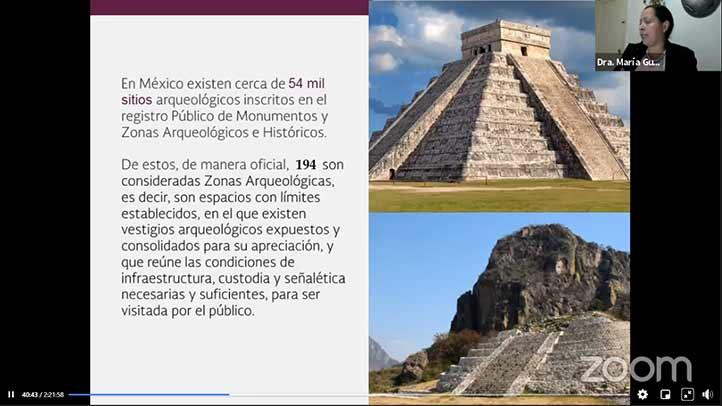 En México existen cerca de 54 mil sitios arqueológicos