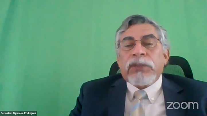 Sebastián Figueroa Rodríguez dijo que debe reflexionarse sobre cómo serán las IES en postpandemia