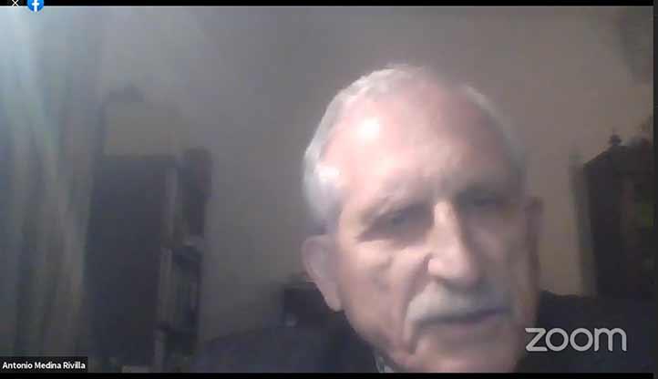 Antonio Medina Rivilla, de la Universidad Nacional de Educación a Distancia, España