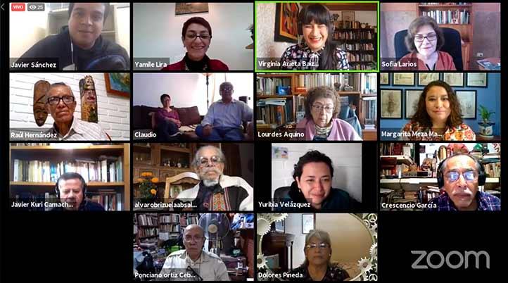 Participantes del Seminario Estudios sobre Territorio y Patrimonio Cultural