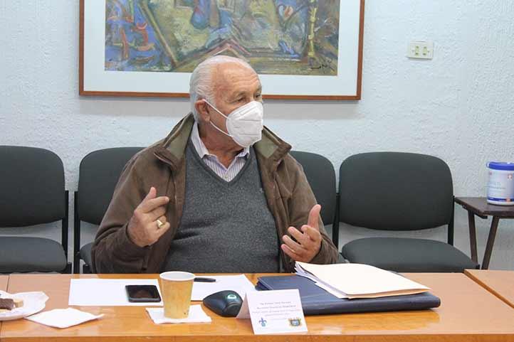 El secretario general de Fesapauv, Enrique Levet, reconoció el diálogo que ha caracterizado a la presente administración universitaria